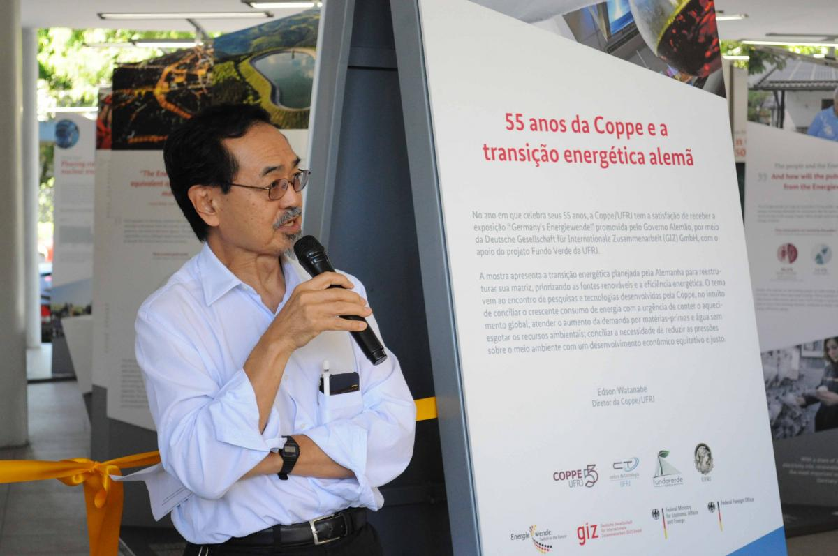 """b98502a3dcb45 Coppe sedia a exposição """"Germany´s Energiewende""""   COPPE"""